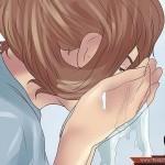 خطوات تنظيف الوجه بالبخار 2