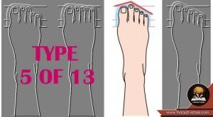 ماذا يقول شكل القدم عن شخصيتك 7
