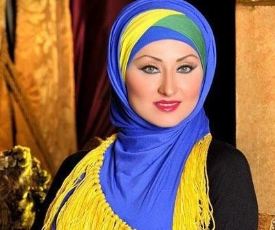 نتيجة بحث الصور عن لفات حجاب تركية بالخطوات للصيف