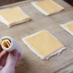 طريقة عمل لفائف الجبن المشوية الصحية واللذيذة لفائف-الجب�
