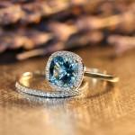 أروع أشكال خاتم الخطوبة من حجر الياقوت بالصور12