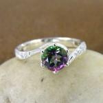 أروع أشكال خاتم الخطوبة من حجر الياقوت بالصور17