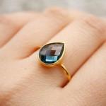 أروع أشكال خاتم الخطوبة من حجر الياقوت بالصور29