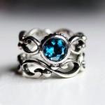 أروع أشكال خاتم الخطوبة من حجر الياقوت بالصور35