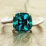 أروع أشكال خاتم الخطوبة من حجر الياقوت بالصور36