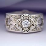 أروع أشكال خاتم الخطوبة من حجر الياقوت بالصور4