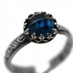 أروع أشكال خاتم الخطوبة من حجر الياقوت بالصور40