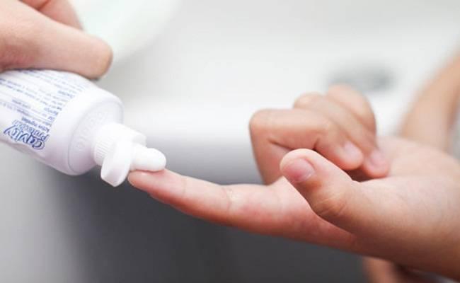 علاج حب الشباب بمعجون الأسنان إليك الطريقة علاج-حب-الش