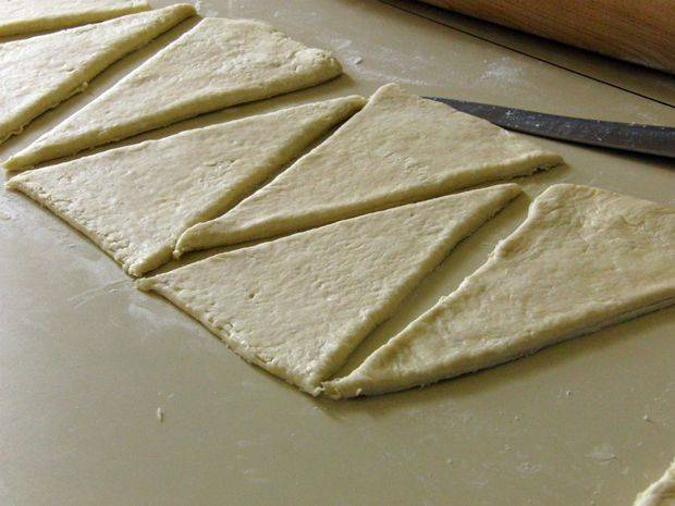 Как сделать слоеное тесто для круассанов 573