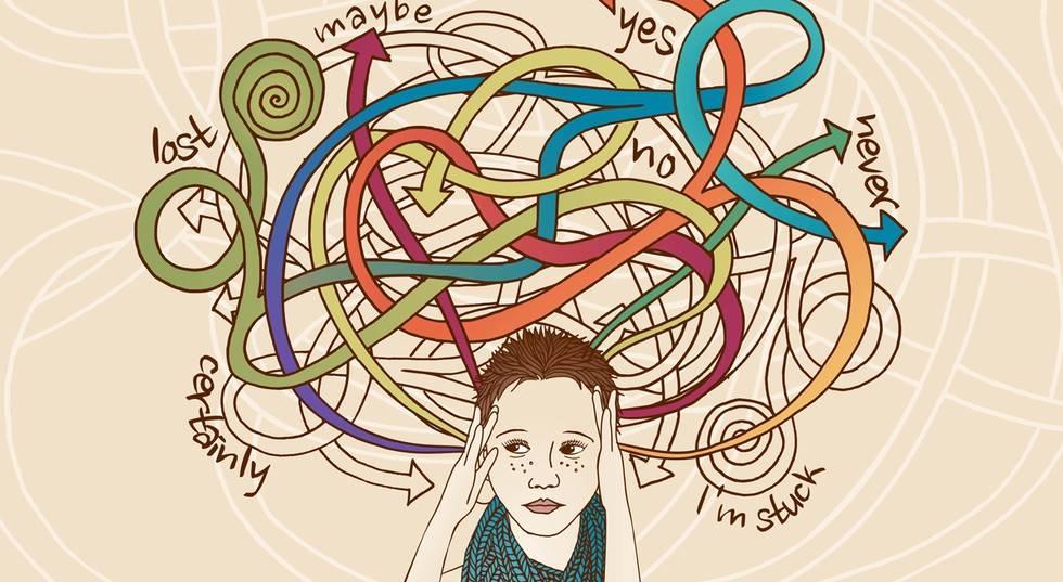 كيفية التخلص من التفكير الزائد وماهي أثاره الجانبية التفكير-ال�