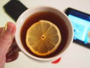 شاي الليمون