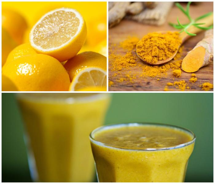 فوائد تناول خليط الكركم والليمون في الصباح