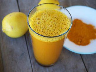 خليط الكركم والليمون