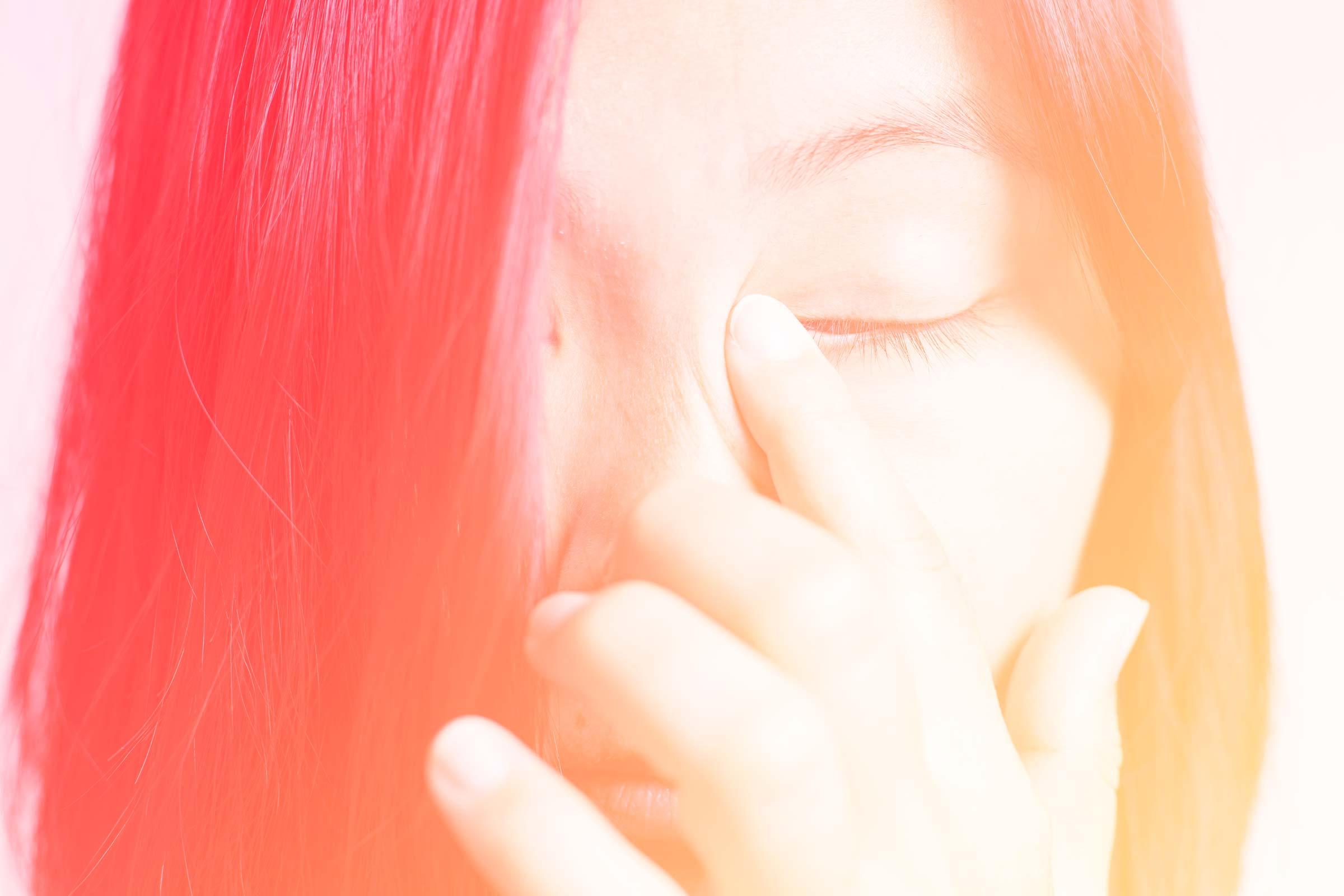 أعراض مشاكل العيون