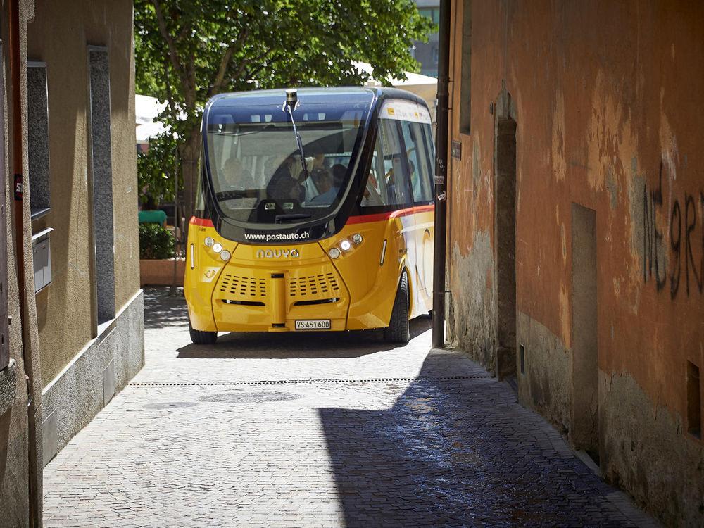 الحافلة الآلية تدخل الخدمة على سبيل التجربةظن ثقف نفسك 2