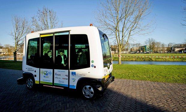 الحافلة الآلية تدخل الخدمة على سبيل التجربةظن ثقف نفسك 5