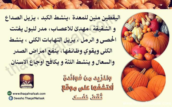 يقطين www.thaqafnafsak.com