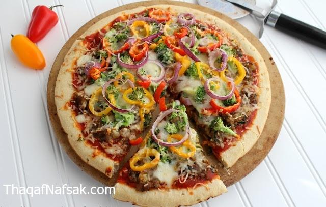 بيتزا الخضروات . ثقف نفسك 1