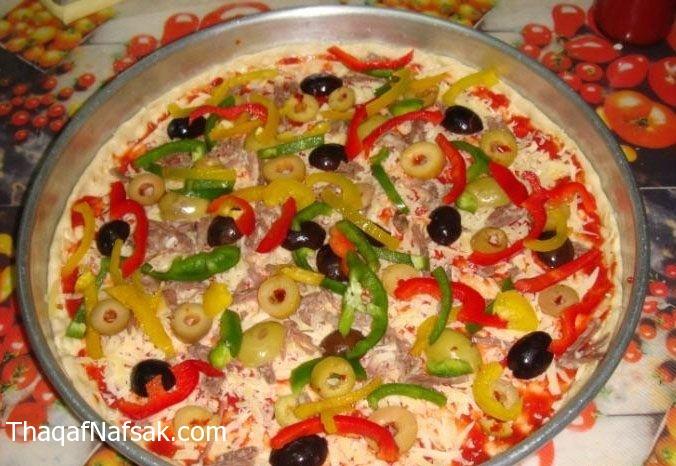بيتزا الخضروات . ثقف نفسك 7