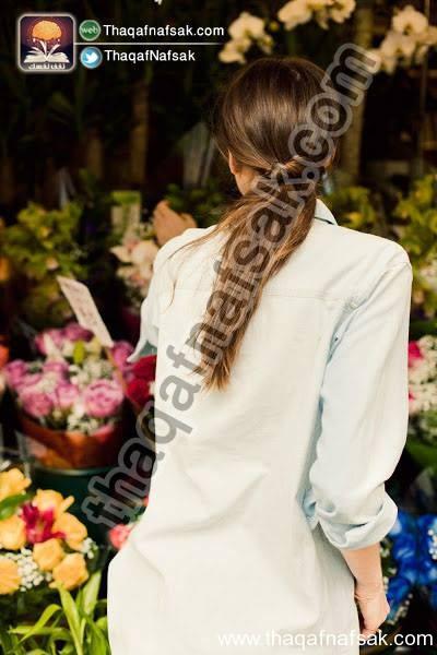 00fcac5f554a1 تسريحات شعر جميلة وسهلة بالصور تعلميها الأن