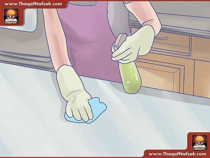 تنظيف المطبخ بالصور 13
