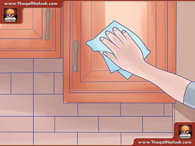تنظيف المطبخ بالصور 16