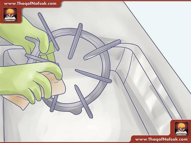 تنظيف المطبخ بالصور 2
