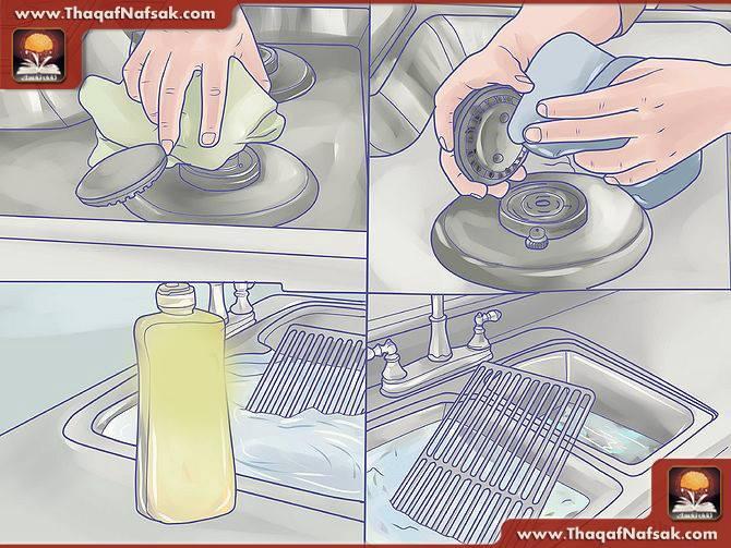 تنظيف المطبخ بالصور 9