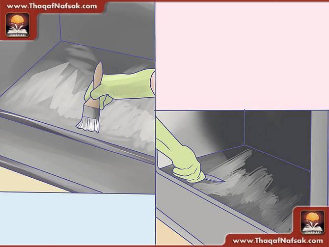 تنظيف المطبخ بالصور1