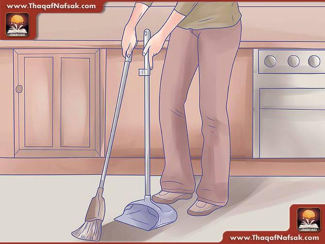 تنظيف المطبخ بالصور24