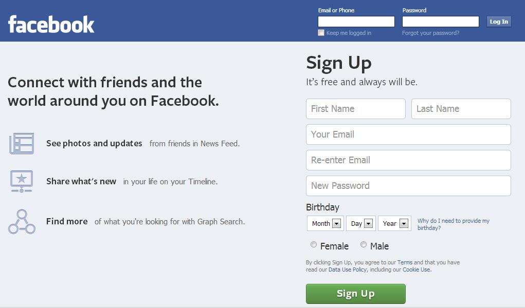حذف حساب فيس بوك . ثقف نفسك