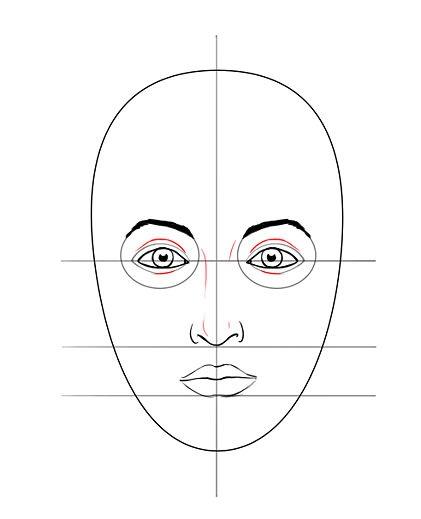 رسم الوجه ثقف نفسك