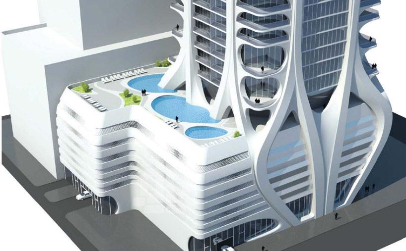 زها حديد تكشف عن تفاصيل تصميم برج ميامي Quot الألف متحف Quot