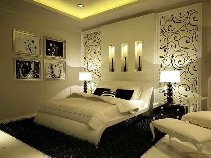أجمل ديكورات غرف النوم 13