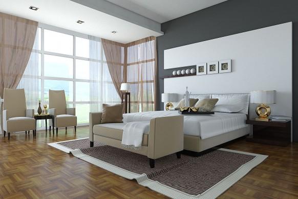 أجمل ديكورات غرف النوم 21