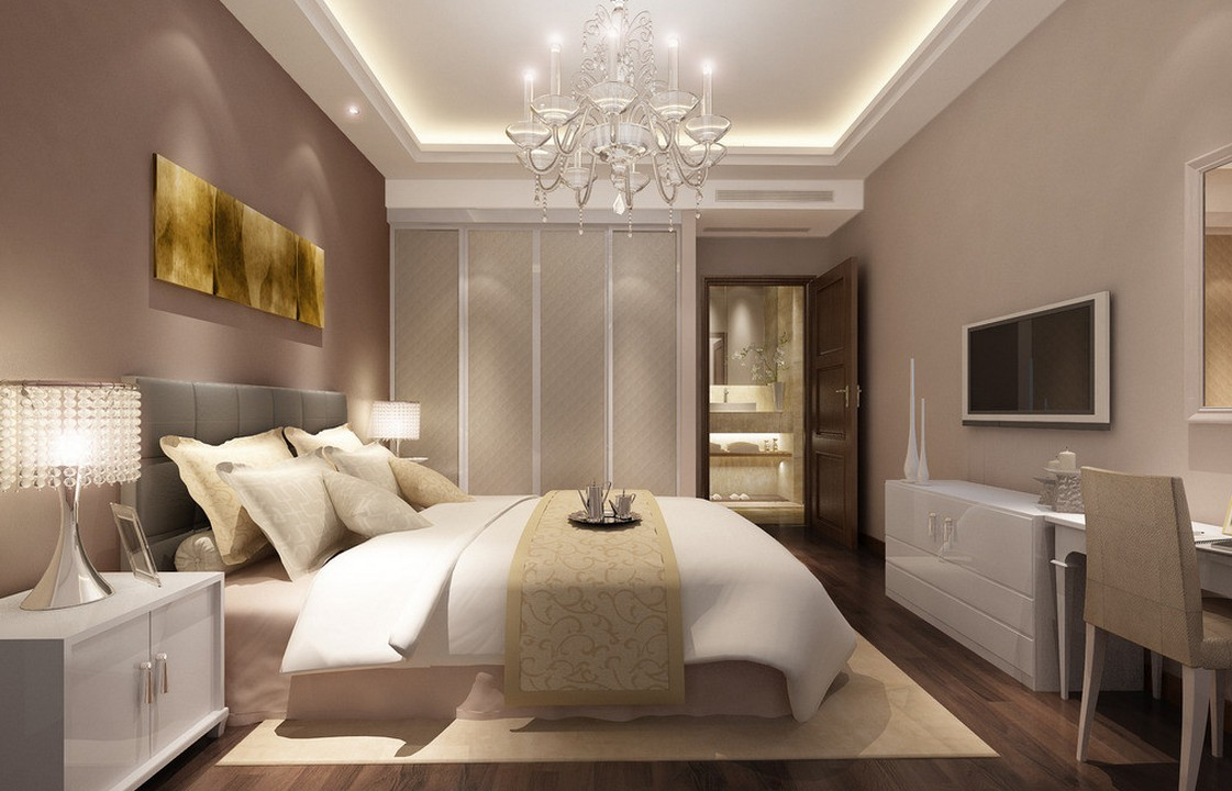 أجمل ديكورات غرف النوم 25