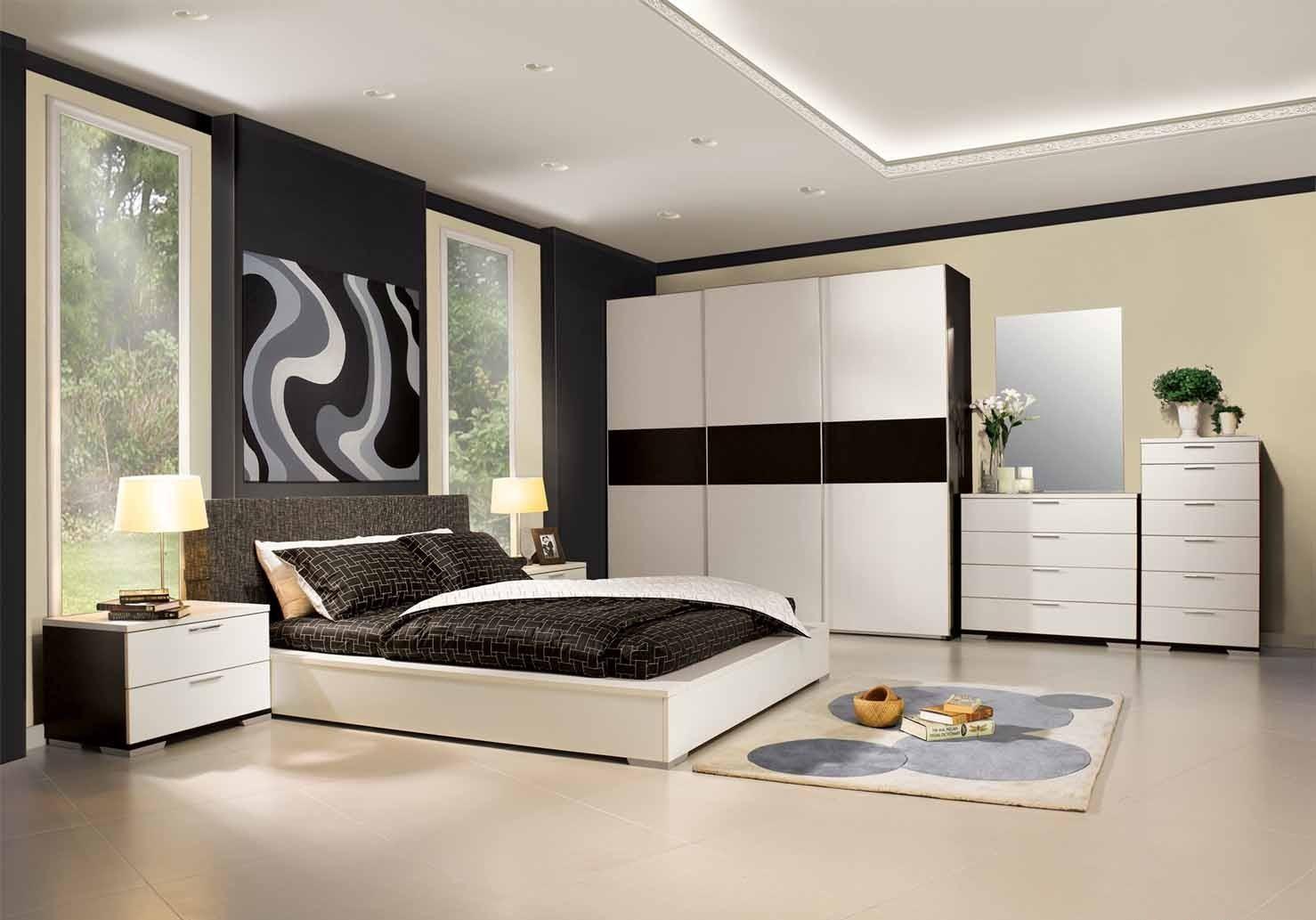 أجمل ديكورات غرف النوم 34