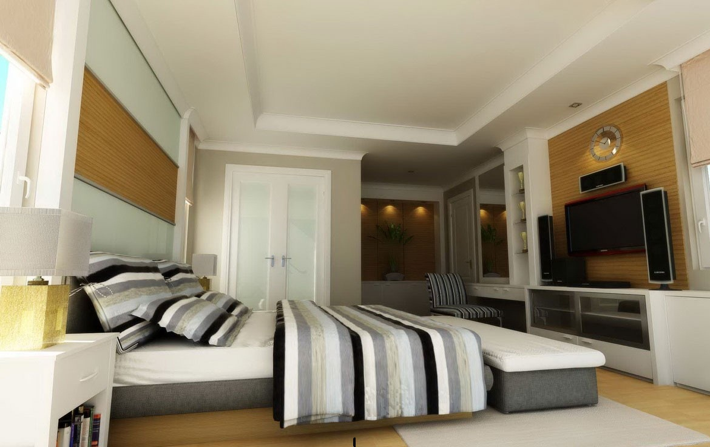 أجمل ديكورات غرف النوم 37