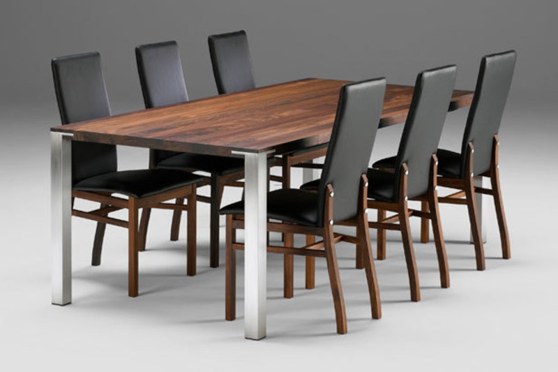 Modern Oval, Round or Rectangular dining tables