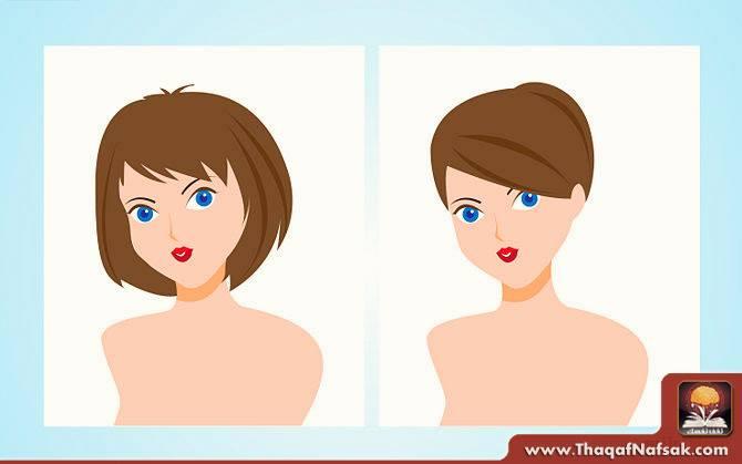 هاشور ابرو  كيف تختارين تسريحة الشعر المناسبة لشكل الوجه ؟ - ثقف نفسك