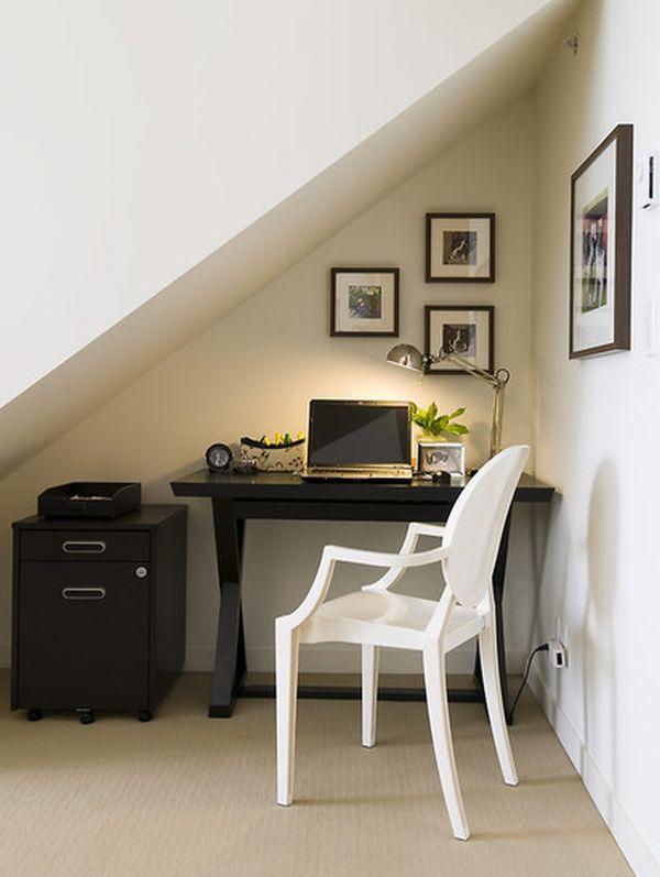 أفكار تصميم غرف المكتب في المساحات الصغيرة  ثقف نفسك