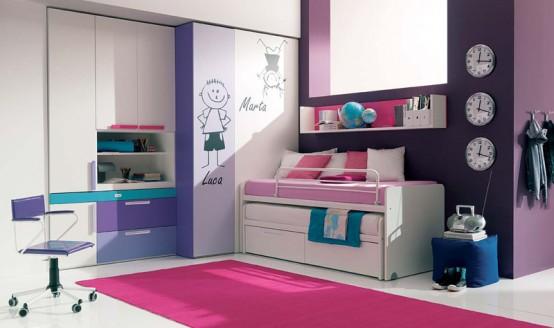 غرف نوم للبنات 10