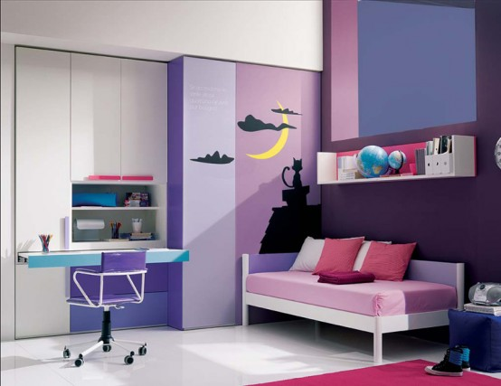غرف نوم للبنات 11