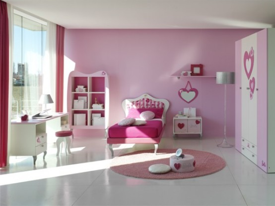 غرف نوم للبنات 18