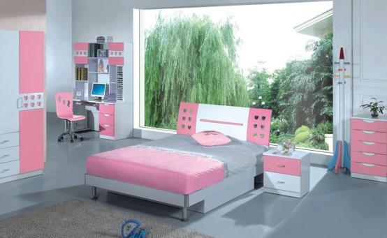 غرف نوم للبنات 20