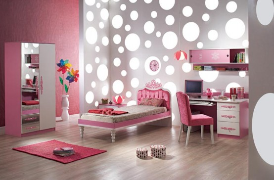 غرف نوم للبنات12