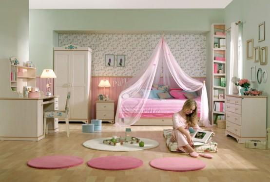غرف نوم للبنات15