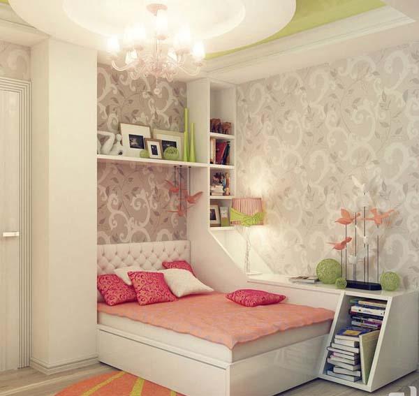 أحدث أفكار غرف النوم للبنات 2014   ثقف نفسك