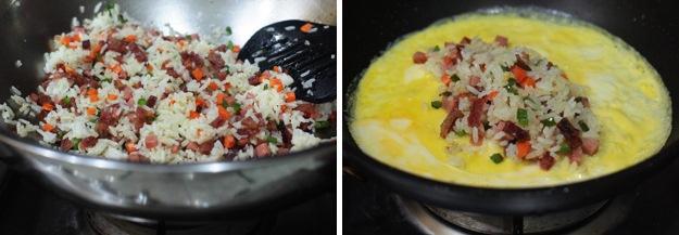 أومليت الأرز