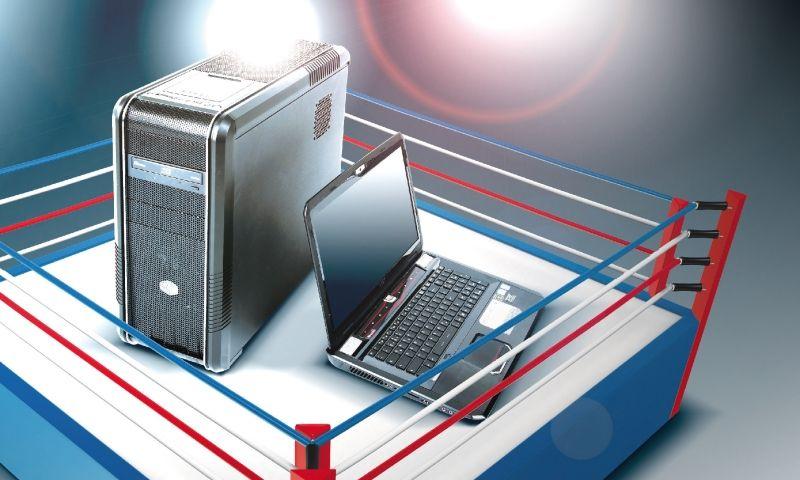 أسباب تجعل الكمبيوتر العادي أفضل من اللاب توب